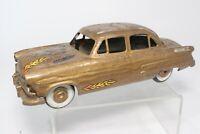 Vintage AMT Promo 1952 1953 Ford 4 Door Sedan Friction Toy Car Repainted Crude