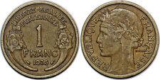 1 FRANC MORLON 1935 TTB