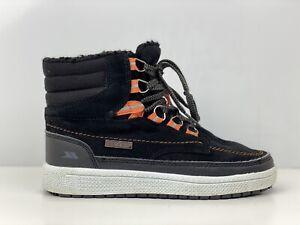 Trespass Raffiki Boys Black Suede Ankle Boot UK Size 1
