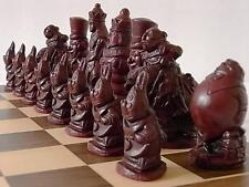 A lovely & collectors Alice in wonderland Chess Set chessmen game pieces