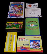 PROFESSIONAL BASEBALL FAMILY STADIUM 87 NINTENDO NES famicom Namcot JAPONES
