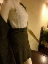 URBAN  BROWN TWEED DRESS LENGTH COAT & MATCHING SKIRT SET-FUN OFFICE/SCHOOL SET