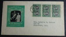 1939 First Visit To Dominion Of Canada First Day Cover Cache