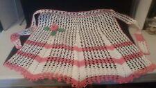 Vintage Hand Crocheted Apron - Antique Doilies Doily