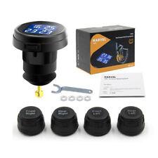 Car TPMS Tire Pressure Monitoring System Wireless 4 Sensors Cigarette Lighter US