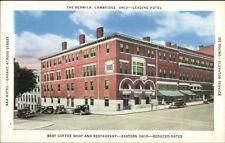 Cambridge OH The Berwick c1920s-30s Postcard - Nice Version