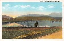 Clarks Fork River Montana~Robins Postcard 1930s