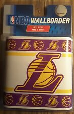 L.A. LAKERS wallpaper border, Peel & Stick