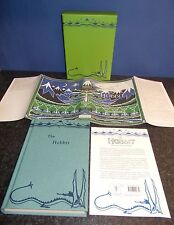 Tolkien. The Hobbit. Deluxe 1937 Facsimile First Printing 2016 + Postcards.