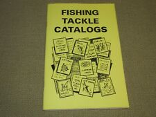 Fishing Tackle Catalogs by Vlad Evanoff 1995 Paperback Free Us Shipping