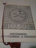 CALENDARIO REGGIMENTO ARTIGLIERIA A CAVALLO Anno 1996