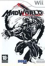 Madworld Mad World NINTENDO WII NUOVO SIGILLATO EDIZIONE ITALIANA