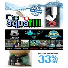 AquaFill  Auto Water Level Float Valve-Pond,Fountain,Pool,Spa,HotTub Made in USA