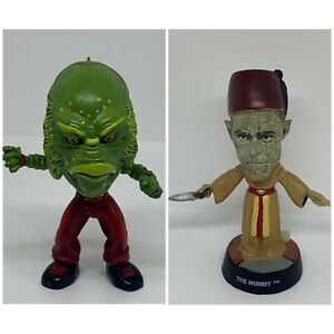 Universal Monsters The Mummy & Creature From The Black Lagoon 2000 Sideshow Toys