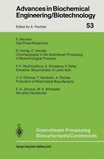 Downstream Processing Biosurfactants Carotenoids 53 (2013, Paperback)