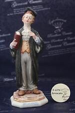 Professione Avvocato (uomo o donna) - Capodimonte Porcellane Carusio