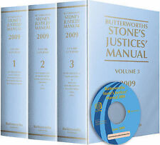 Stones Justices Manual 2009-ExLibrary