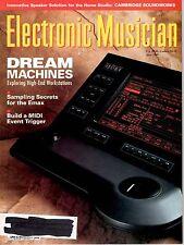 magazine, nostalgic, collectible, Electronic Musician 1989-06