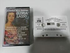 GLORIA LASSO EXTRAÑOS EN EL PARAISO CASSETTE TAPE SPANISH EDITION 1979-87 ARIOLA