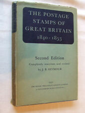 Postage Stamps Of Great Britain 1840-1853 + Index by Seymour, Rps 1950