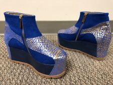 Marita Moreno Limited Wedge Ankle Boots Space1999  Size EU 37 / 6.5 US $600+