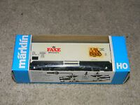 Marklin  HO Scale 4565  Faxe Brygger  Refrigerated Car  New in Box