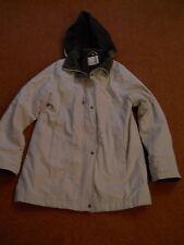 Edinburgh Wool Mill Beige Ladies Winter Short Coat -Size 12