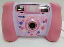 VTECH Kidizoom Pink Girls Digital Camera 1.3 MP 4x Zoom picture video flash MINT