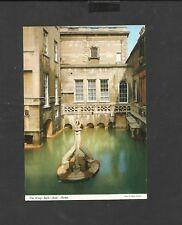 J Hinde Colour Postcard The Kings bath-Bath Avon Somerset  unposted