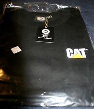 NWT New Mens Licensed Merchandise CAT CATERPILLAR Black TShirt XXL Short Sleeves