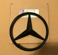 MERCEDES A,C,GLA,GLK,CLA,CLS,E Class FRONT GRILLE STAR BADGE Gloss Black OEM-fit