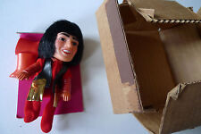 THE MONKEES Vintage Remco Doll 70s Davey Jones #3194 With Boots &Card BOXED RARE