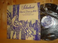 Schubert Octet PASCAL QUARTET Swiss TURICAPHON LP MMS-2219 NM