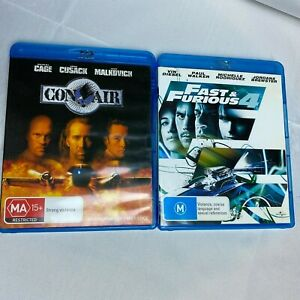 Con Air & Fast and Furious 4 - Blu-Ray DISC