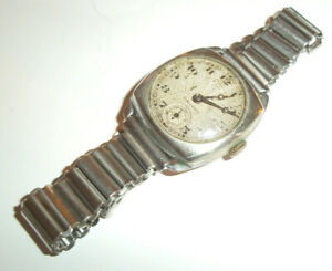 Rare Antique Trench Watch Rolex Unicorn Swiss Made Wrist Watch ( cm ) c1920s