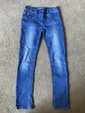 Next Denim Jeggings Blue Skinny Jeans Age 10 Years VGC !