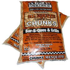 Smokehouse Products Inc Smoker Wood Chunks - 2 Bags Mesquite
