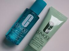 Clinique: 7-day scrub cream 50 ml and rinse-off eye makeup solvent 2 ounces