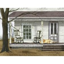 Billy Jacobs The Long Wait Dog Country Farmhouse Art Print