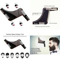 (2 pack) Beard Styling And Shaping Bro Comb Shaper Stencil Shaving Template Tool