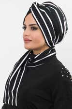 TT3874 Fertig Kopftuch  Hazir Zincir Bandana Esarp Sal Tesettür Hijab Khimar