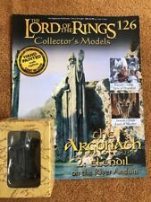Eaglemoss LOTR Lead Figure 126 The Argonath 2 Elendil Boxed + Magazine