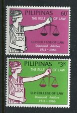 Philippines 1778-1779  MNH University of the Philippines College of Law 1986