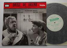 "OST-B.O.F. Maurice JAUBERT Drole de drame ORIG 60's 10"" LP PACIFIC Marcel CARNE"