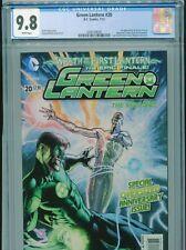 2013 DC COMICS GREEN LANTERN #20 1ST APPEARANCE JESSICA CRUZ CGC 9.8 WHITE