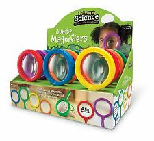 Learning Resources - 1 x Childrens Jumbo Magnifier Magnifying Glass