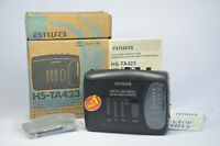 AIWA WALKMAN HS-TA423 AM/FM STEREO RADIO CASSETTE PERSONAL TAPE PLAYER