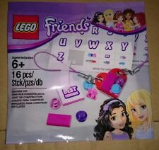 Lego 5004395 - Friends - Jewelry and Sticker Pack Polybag / Promo