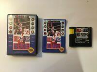 Bulls vs Lakers and the NBA Playoffs (Sega Genesis 1991) EASN - CIB COMPLETE