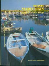 RIVISTA MARITTIMA 5 / MAGGIO 1991  AA.VV. RIVISTA MARITTIMA 1991